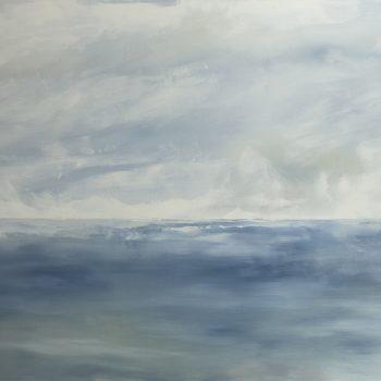 Phare à éclat blanc (Huile sur toile 97X130cm)