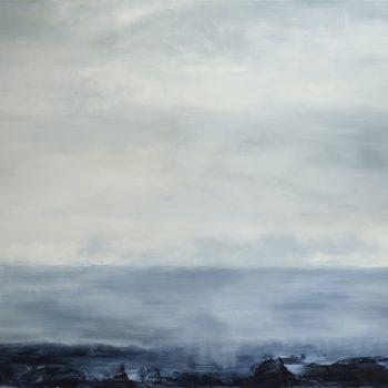 Bell Rock (Huile sur toile, 89x116cm)